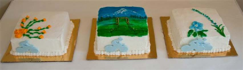 3 Cakes