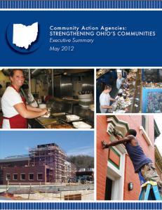 CAAs: Strengthening Ohio's Communities