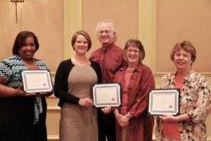 CSBG Data Champions and Board President