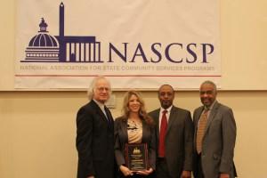 The James Gardner Service Award  Winner, Carrie Smith