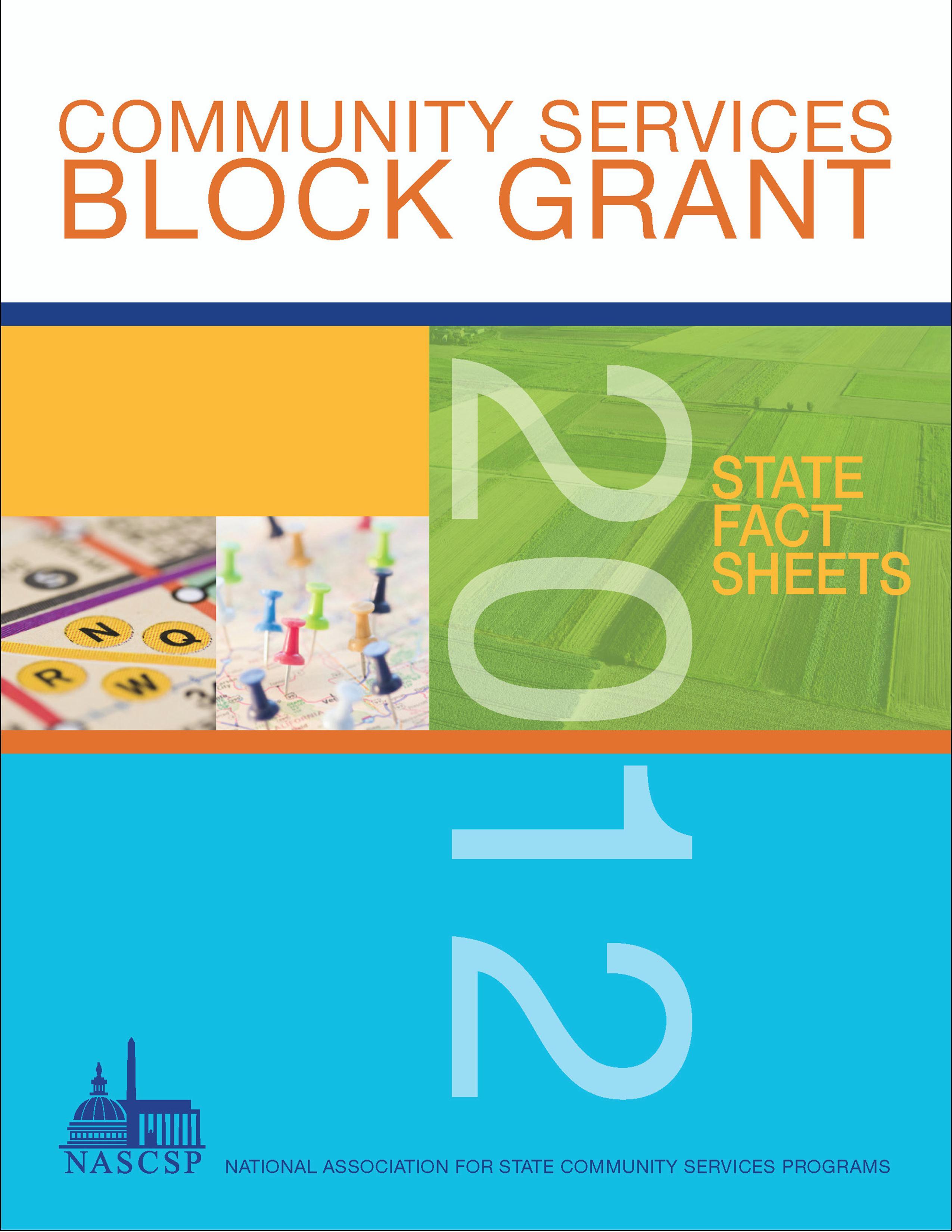 2012 CSBG State Fact Sheets